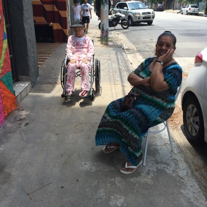 Ana e a filha Lourdes