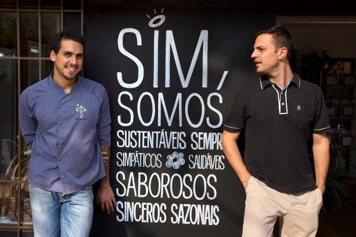 Thiago Medeiros e Charles Piriou, donos da Casa S (Fotos: Leonardo Raposo)