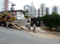 Obras a rua Fidalga, 555