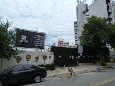 Obras na rua Girassol, 529