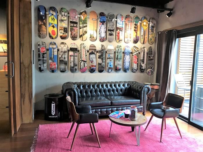 Interior da Fellow House (Fotos: Leonardo Raposo)
