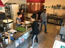 Restaurante Clandestino, da chef Bel Coelho; restaurante funciona apenas uma semana por mês
