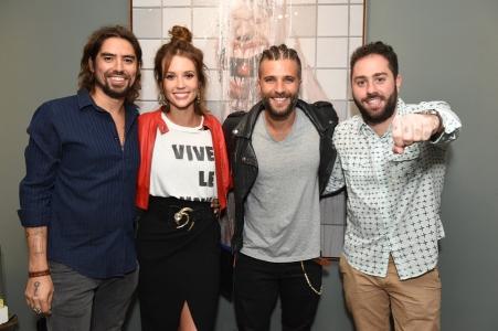 Flávio Rossi, Juliana Didone, Bruno Gagliasso e Luis Maluf (Divulgação)