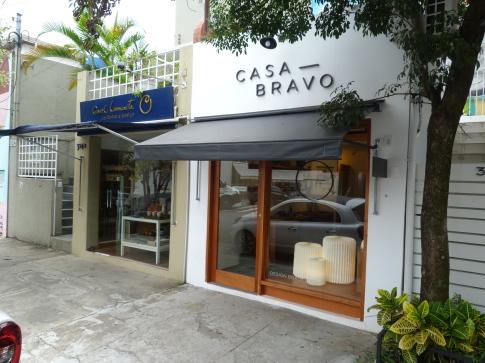 Fachada da Casa Bravo
