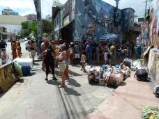 Bloco Carnavalesco Macacao Cansado, cuja concentrção se dá no Beco