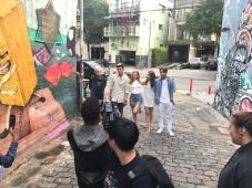 Filmagem (equipe estrangeira)